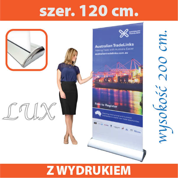 Roll up luxusowy 120 x 200